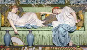 Apples, 1875 by Albert Moore