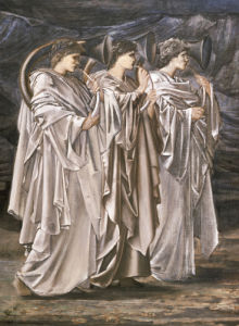 The Challenge In The Wilderness, 1874 by Sir Edward Burne-Jones