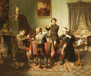 The Quartet by Friedrich-Peter Hiddemann