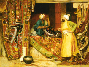 Carpet Seller, 1871 by Jean Georges Vibert