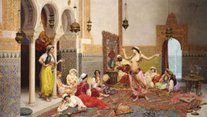 The Harem Dance by Giulio Rosati