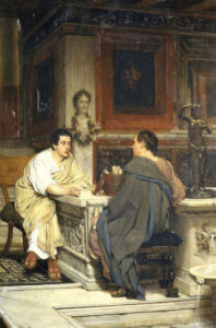 The Discourse by Sir Lawrence Alma-Tadema