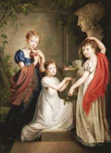 Homage To Minerva by Henri Nicholas Van Gorp