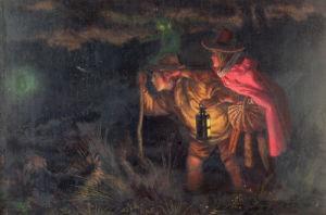 Jack O'Lantern... , 1872 by Arthur Hughes
