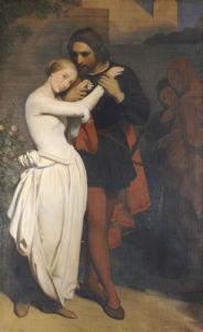 Faust Et Marguerite Au Jardin, 1846 by Ary Scheffer