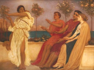 Greek Girl Dancing by Lord Frederic Leighton