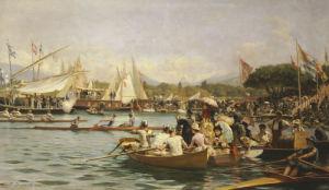 A Regatta, Geneva by Frederic Dufaux