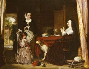 The New Dress by John Callcott Horsley