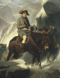 Napoleon Crossing The Alps, 1848 by Paul Delaroche