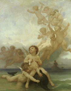 Birth Of Venus by Adolphe William Bouguereau