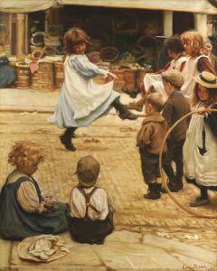 An Impromptu Ball, 1899 by Eva Roos