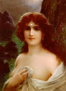 A Sea Nymph by Emile Vernon