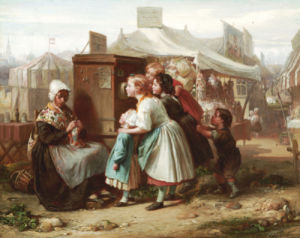 The Peep Show by Francois Louis Lanfant de Metz