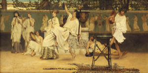 Bacchanal, 1871 by Sir Lawrence Alma-Tadema