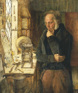 Our Village Clockmaker Solving A Problem by James Campbell