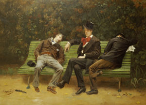 The Morning After, 1884 by Joseph Fortune Layraud