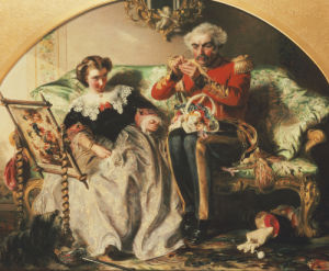 The Lion In Love by Abraham Solomon