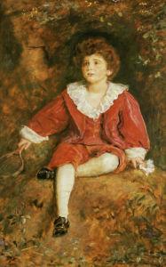 Portrait Of The Hon John Neville Manners, 1896 by Sir John Everett Millais