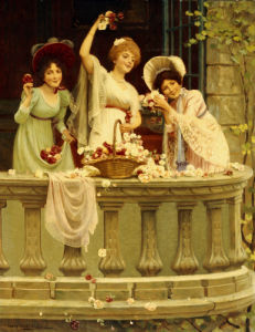 On The Balcony by Abbey Altson