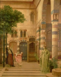 Old Damascus: Jew's Quarter Or Gathering Lemons, 1873 by Lord Frederic Leighton