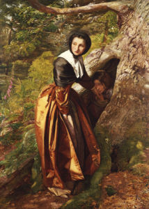 The Proscribed Royalist, 1853 by Sir John Everett Millais