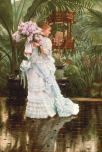 The Bunch Of Lilacs, 1875 by James Jacques Joseph Tissot