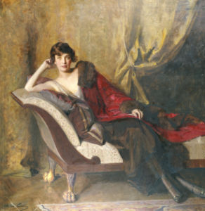 Portrait Of Countess Michael Karolyi by John Quincy Adams