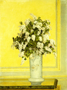 Floral Still Life, 1885 by Auguste Hector Cabuzel