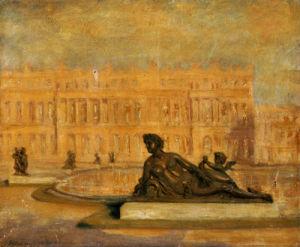 Le Parterre D'Eau Du Midi Versailles by Jean Altamura