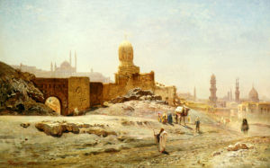 A View Of Cairo, 1875 by Ernst Karl Eugen Koerner