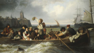 Emigration To America, 1860 by Antonie Volkmar