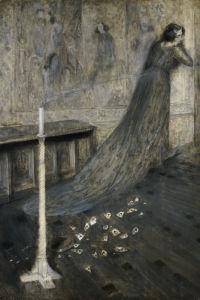 La Speranza Perduta, 1904 by Serafino Macchiati