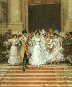After The Wedding by Frederik Hendrik Kaemmerer