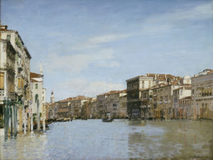 The Grand Canal, Venice by Alberto Pasini