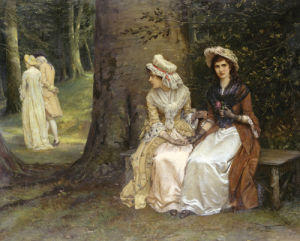 Unrequited Love - A Scene From Much Ado About Nothing by William Oliver