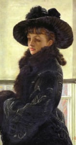 Mavourneen, Portrait Of Kathleen Newton, 1877 by James Jacques Joseph Tissot