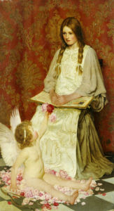 The Stranger, 1902 by William Henry Margetson