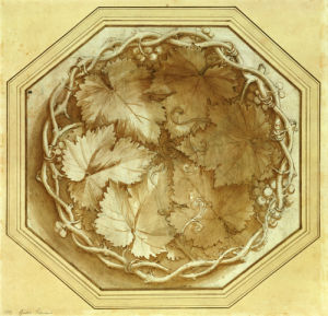 Design For A Fruit Bowl by Giulio Il Romano