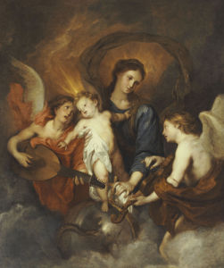 The Madonna And Child With Two Musical Angels, 1599 by Sir Anthony Van Dyck