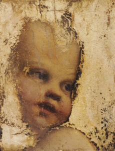 The Head Of A Child - A Fragment by Antonio Correggio
