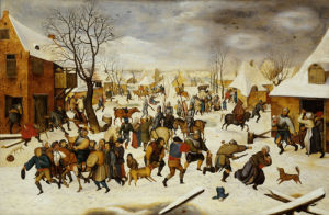 The Massacre Of The Innocents by Pieter Brueghel The Younger