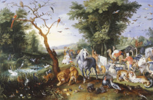 Animals Entering Noah's Ark by Jan Bruegel The Younger