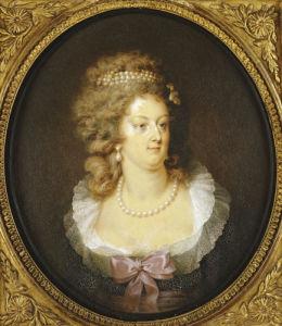 Bust Portrait Of Marie-Antoinette (1755-1793) by Jean Guerin