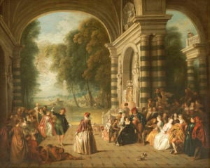 The Pleasures Of The Ball. Les Plaisirs Du Bal by Jean-Baptiste Joseph Pater