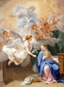 The Annunciation by Giovanni Odazzi