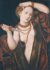Lucretia, After 1537 by Lucas Cranach