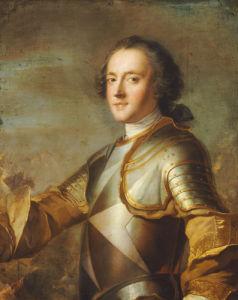 Portrait Of Jean-Philippe D'Orleans, Grand Prieur De France (1702-1748) by Jean-Marc Nattier