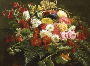 A Summer Bouquet, 1883 by Anthonie Eleonore Christensen