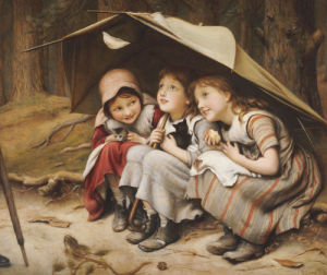 Three Little Kittens, 1883 by Joseph Clark