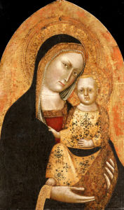 The Madonna And Child by Giovanni Di Nicola Da Pisa